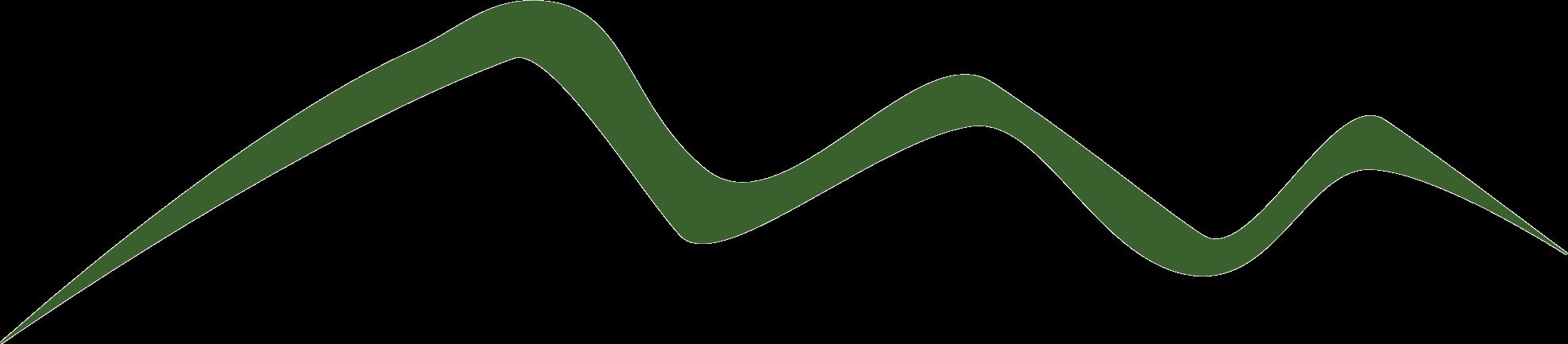 green mountain illustration