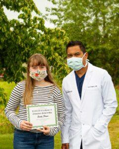 Emily F Scholarship Winner