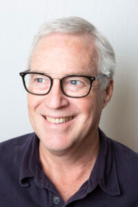 Mature man with stylish glasses